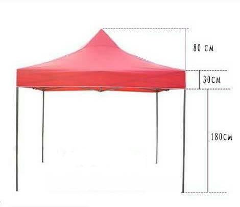 harga tenda lipat 3x3