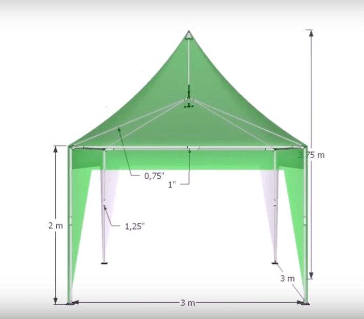 Harga Tenda Sarnafil 3x3