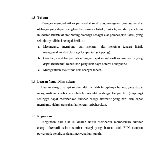 Contoh Proposal Penelitian Sederhana