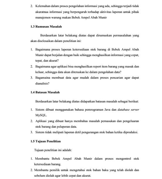 7 Contoh Proposal Penelitian Sederhana Skripsi Pendidikan Kesehatan
