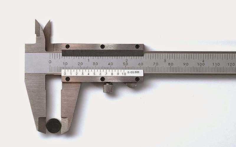 mengukur diameter jangka sorong